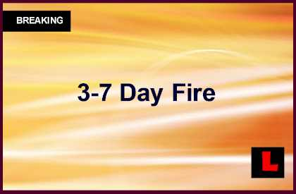 3-7 Day Fire, Lodge LCA Fire & Siskiyou Fire Burn in CA Today