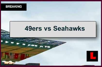 49ers vs Seahawks 2014 Score Prompts Early FG Today