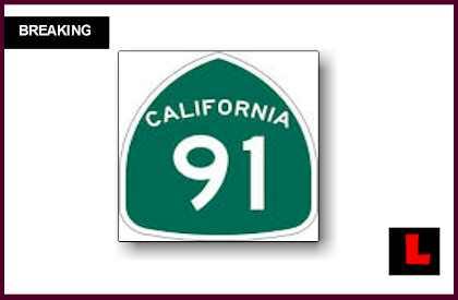 91 Freeway Shutdown, Anaheim Fire Today Burns Near Fullerton
