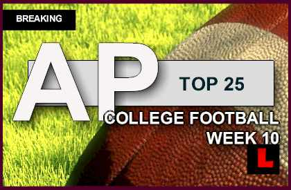football college games today ap top 25 football scores