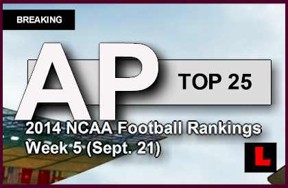 ap top 25 schedule week one college football
