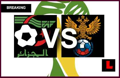 Argelia vs. Rusia 2014 Score Prompts Copa Mundial En Vivo ...