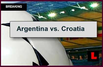 argentina vs croatia 2014 score en vivo delivers futbol