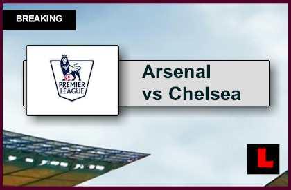 Arsenal vs Chelsea 2015 Score Updates EPLTable Rankings Today