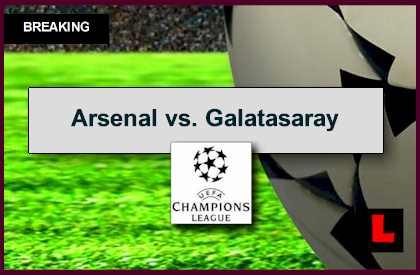 Arsenal vs. Galatasaray 2014 Score Updates UEFA Champions League Rankings