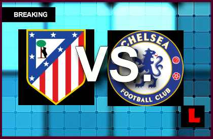 Atlético Madrid vs. Chelsea 2014 Score Prompts UEFA Champions League Results ucl soccer football live today april 22, 2014