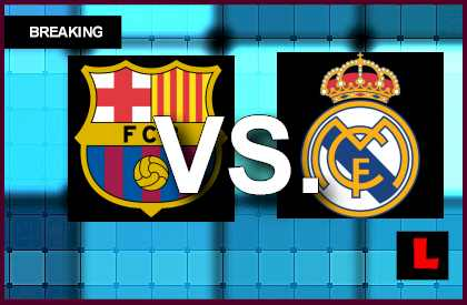 Barcelona vs. Real Madrid 2014 Score Decides Copa Del Rey Winner en vivo live score winner wins