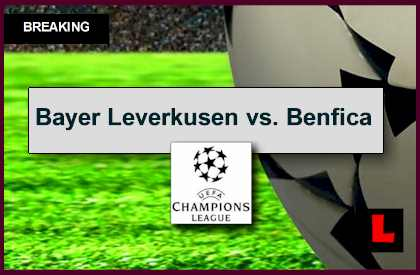 Bayer Leverkusen vs. Benfica 2014 Score Heats Up UEFA Champions League