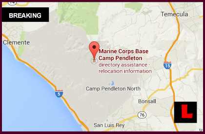 Camp Pendleton Fire 2014 Today Tomahawk Fire Map Prompts Evacuations