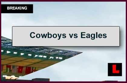 Cowboys vs Eagles 2014 Score Updates Latest NFL Playoff Picture
