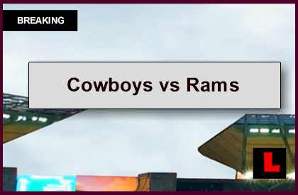 Cowboys vs Rams 2014 Score: Tony Romo Looks For Second Season Win