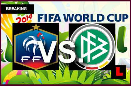 Francia vs. Alemania 2014 Score Prompts En Vivo Copa Mundial Cuartos ...