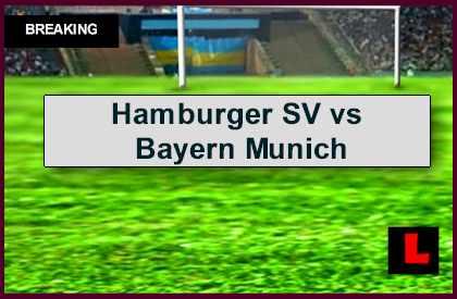 Hamburger SV vs Bayern Munich 2014 Score Prompts DFB Pokal Resultsl