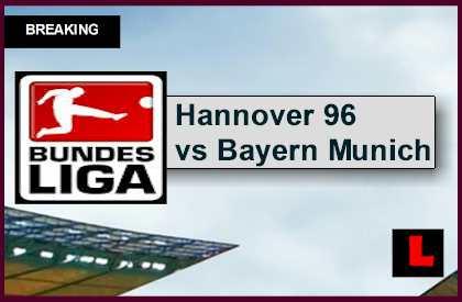 Hannover 96 vs bayern munich 2015 ignites bundesliga table for Table quiz hannover