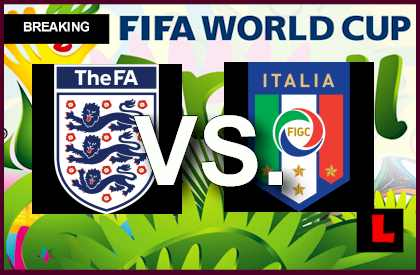 England vs  Italy 2014 Score Delivers FIFA World Cup Results