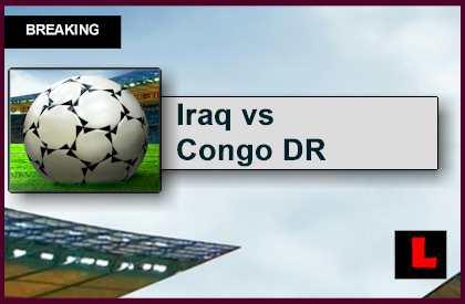 Iraq vs Congo DR 2015 Score Heats Up Soccer Friendly Today