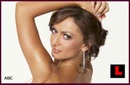 Karina Smirnoff Playboy Samba Could Waltz Her into Finals