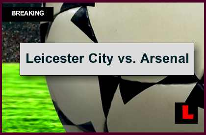 Leicester City vs. Arsenal 2014 Score Tied at Half in EPL Table Battle