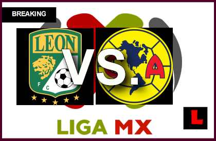 León vs. América 2014 Score Prompts Liga MX Table Showdown en vivo live score results