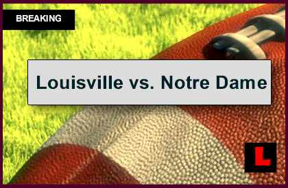 college footnall scores notre dame game score live