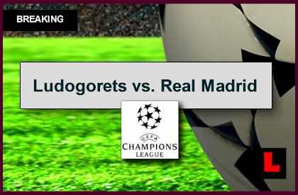 Ludogorets vs. Real Madrid 2014 Score En Vivo Prompts UEFA Champions League