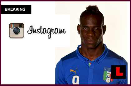 Mario Balotelli Gun Photo on Instagram