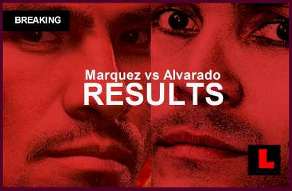 Marquez vs. Alvarado Boxing Results: Who Won the Fight Tonight 2014 winner may 17, 2014 hbo last night 5/17/14