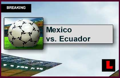 Mexico vs. Ecuador 2015 Score En Vivo Prompts Univision Futbol Amistoso
