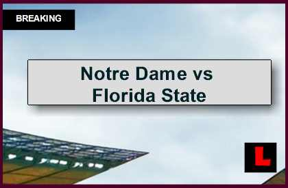 florida football ranking score of notre dame football game