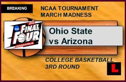 March Madness Bracket 2015: Ohio State vs Arizona Score ...
