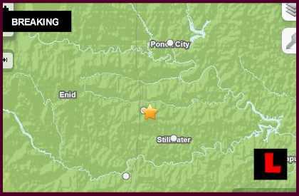 Oklahoma Earthquake Today 2014 Strikes Perry