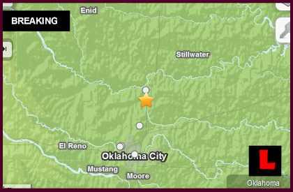 Oklahoma Earthquake Today 2014 Strikes Guthrie