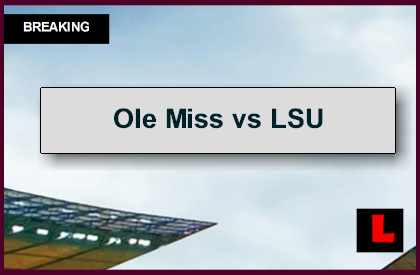 Ole Miss vs LSU 2014 Score Prompts AP Top 25 College Football Poll Battle