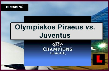 UCL Results 2014 Today Prompt Olympiacos Piraeus vs. Juventus Score