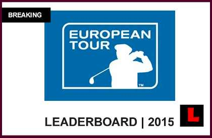 european tour leaderboard live
