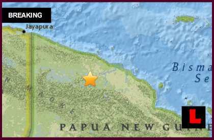 Papua New Guinea Earthquake 2015 Today Prompts No Tsunami Alert