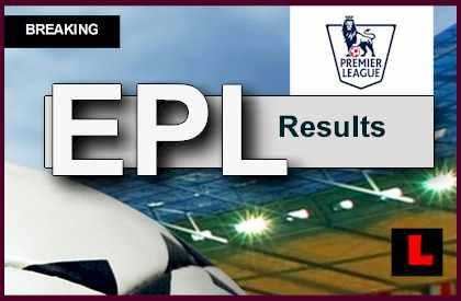epl update result