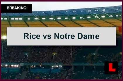 notre dame score live nbc college football
