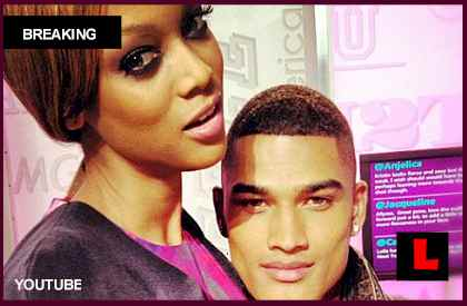 Robert Evans, Tyra Banks Dating on America's Next Top Model
