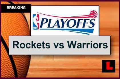 Rockets vs Warriors 2015 Score: Channel, Start Time Set for Playoffs