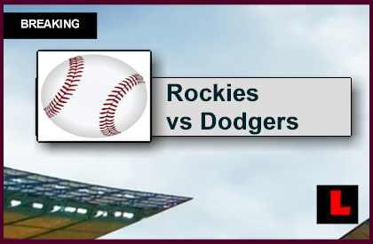 Rockies Vs Dodgers 2015 Score Delivers Baseball Battle