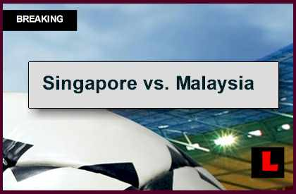 Singapore vs. Malaysia 2014 Score Updates AFF Cup Championship Results