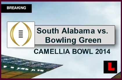 vs. Bowling Green 2014 Score Delivers Raycom Media Camellia Bowl