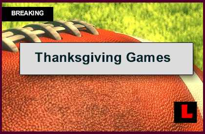 nfl schedule thanksgiving day are there any football games tonight