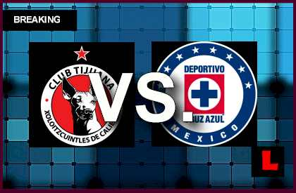 Tijuana vs Cruz Azul 2014 Score Ignites CONCACAF Champions League en vivo live score results soccer futbol