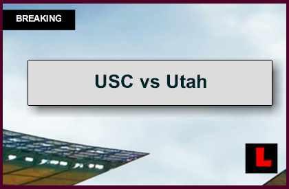 USC vs Utah 2014  Score Ignites AP Top 25 College Football Rankings