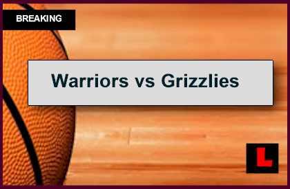 warriors vs grizzlies - photo #29