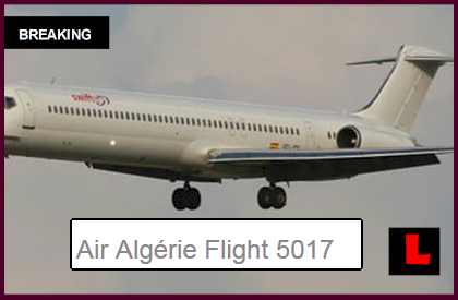 Air Algerie Flight 5017 Today July 23 Disappears: Swiftair MD-83 Missing