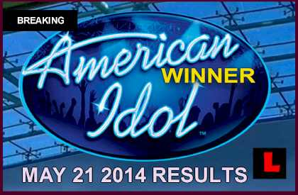 American Idol 2014 Results Tonight May 21, 2014 5/21/14 Reveal Winner who won Caleb Johnson