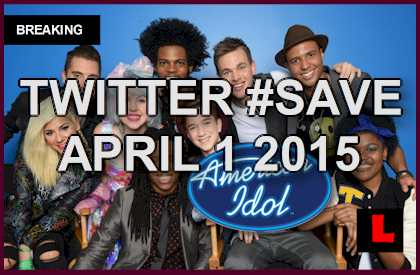 American Idol Results Tonight 2015 Adds Twitter #Save April 1